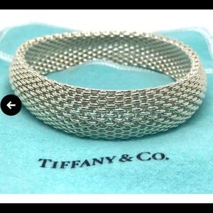 Tiffany & Co Mesh Somerset bracelet *firm price*